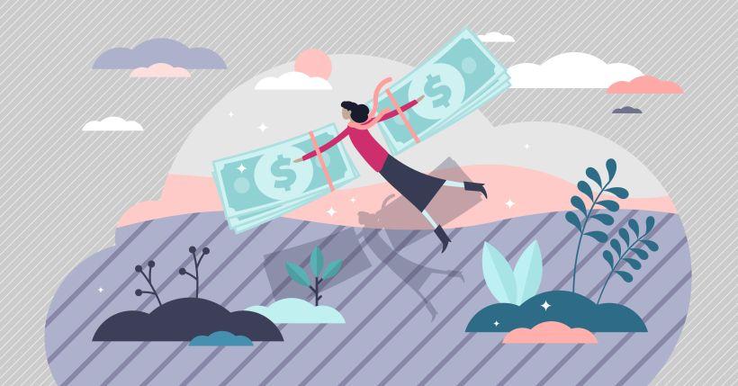 finanzielle Freiheit führt zu grenzenlosen Möglichkeiten