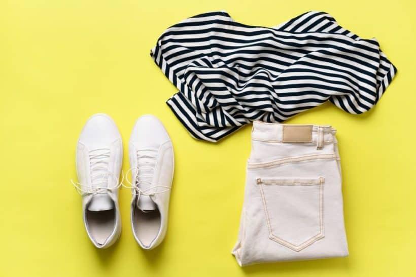 minimalistischer kleiderschrank - alles passt zusammen