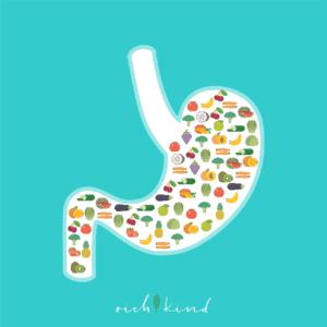 In einer gesunden veganen Ernaehrung haben die täglichen Lebensmittel, wie Obst und Gemuese weniger Kalorien.