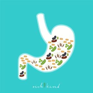 In einer gesunden veganen Ernährung haben die täglichen Lebensmittel, wie stärkehaltige Lebensmittel, viel weniger Kalorien.