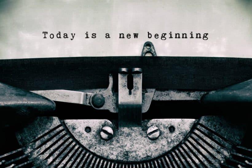 today is an new beginning, mit richKind einen Neuanfang wagen und das gute Leben leben