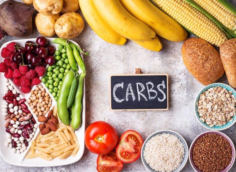 gesund Kohlenhydrate stehen im Mittelpunkt einer veganen Ernährung dazu