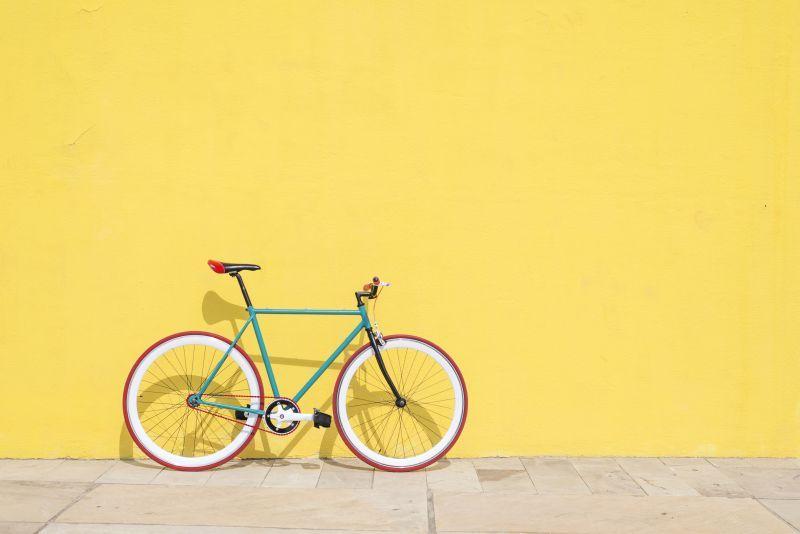 vegane Ernährung führt zu mehr Bewegung wie Fahrradfahren